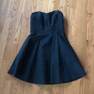 Express Little Back Strapless Dress
